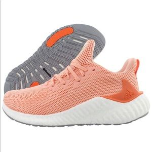 ADIDAS Alphaboost Semi Coral Running Shoes Sz 8.5